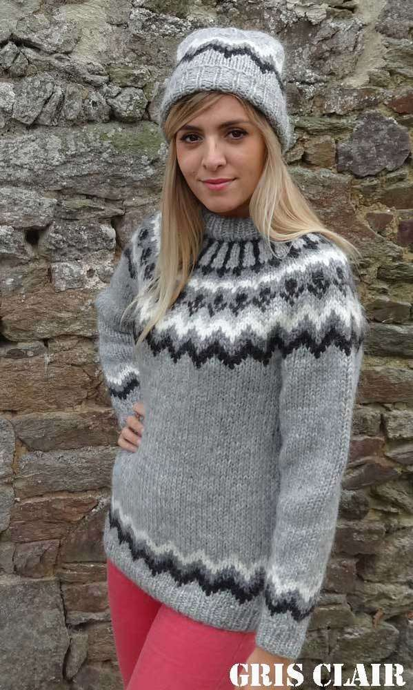 bb03d58cfef HUSAVIK AUTHENTIC LOPI HAND KNIT SWEATER FROM ICELAND