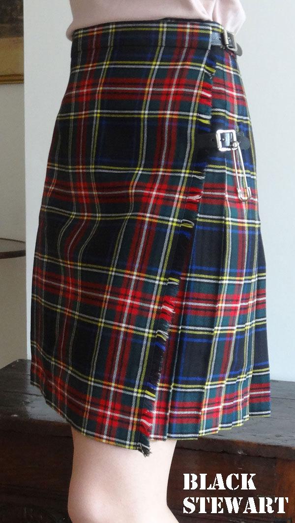 kilt ecossais femme veritable kilt ecossais court 50cm