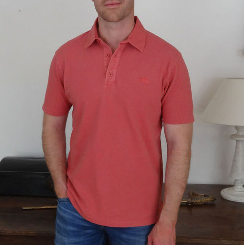 LEFF - CAP MARINE 100% COTTON POLO SHIRT