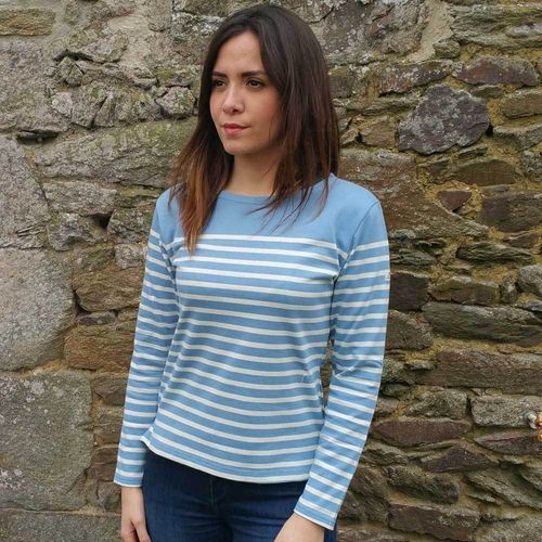 MARINELLA - MOUSQUETON clothing - long sleeves breton shirt
