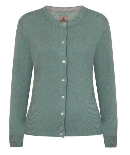 CHARLENE - Mousqueton clothing - wool/acrylic 50/50 fitted cardigan