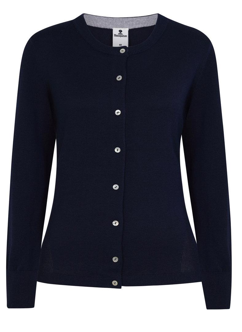 prix officiel style à la mode design distinctif CHRISTEN - Mousqueton - Cardigan femme boutonné col rond