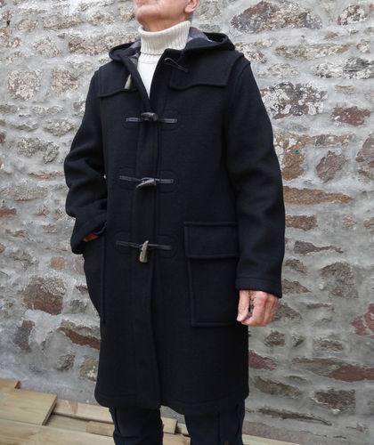 London Tradition duffle coat Anglais MARTIN NOIR